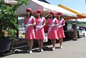 福島市観光農園協会「開園式」の様子