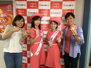 ラジオ大阪PRの様子