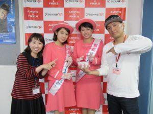 ラジオ大阪訪問の様子